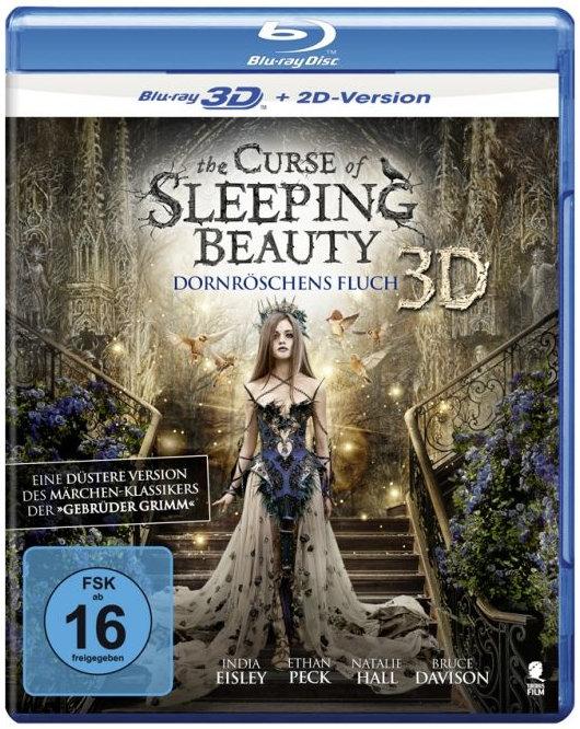 The Curse of Sleeping Beauty 3D (2016) - Dornröschens Fluch (Blu-ray 3D (+2D))