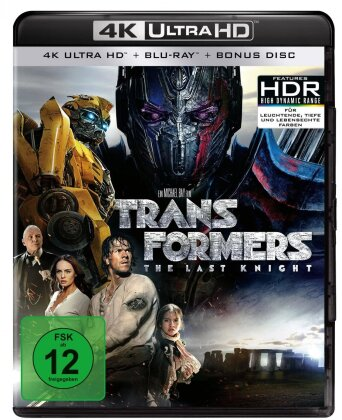 Transformers 5 - The Last Knight (2017) (4K Ultra HD + 2 Blu-rays)