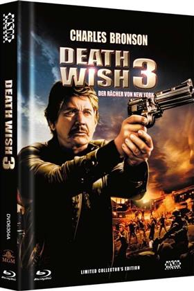 Death Wish 3 (1985) (Cover A, Collector's Edition, Limited Edition, Mediabook, Uncut, Blu-ray + DVD)
