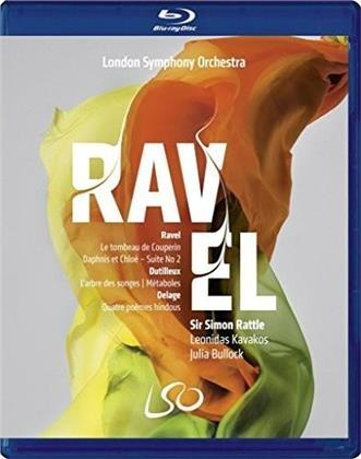 London Symphony Orchestra, … - Ravel / Dutilleux / Delage (Blu-ray + DVD)