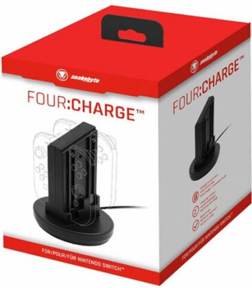 Switch Ladestation für 4 Joy-Con SNAKEB. FOUR:Charge