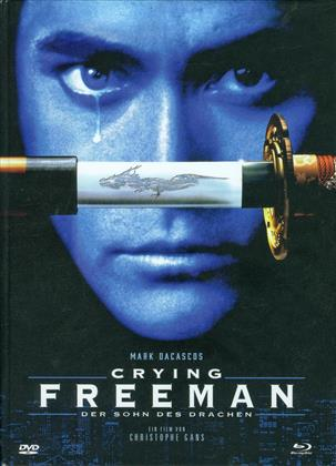 Crying Freeman - Der Sohn des Drachen (1995) (Cover D, Limited Edition, Mediabook, Uncut, Blu-ray + DVD)
