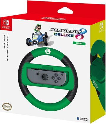 Nintendo Switch - Deluxe Wheel Attachment - Luigi