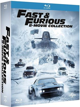 Fast & Furious 1-8 - 8-Movie Collection (8 Blu-ray)