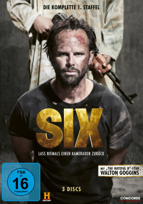 Six - Staffel 1 (History Channel, 3 DVD)