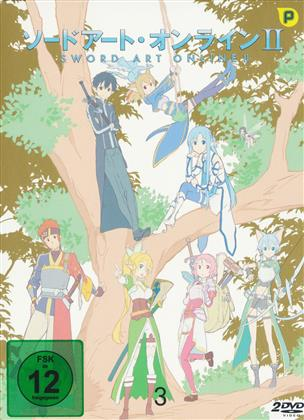 Sword Art Online II - Staffel 2 - Vol. 3 (Digipack, 2 DVD)