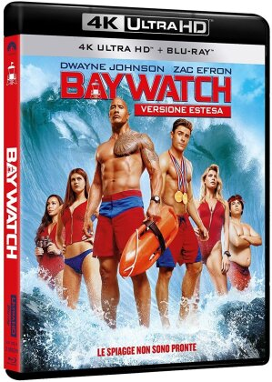 Baywatch (2017) (Extended Edition, 4K Ultra HD + Blu-ray)
