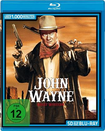 John Wayne - 23 Spielfilme Box (SD on Bluray, s/w)