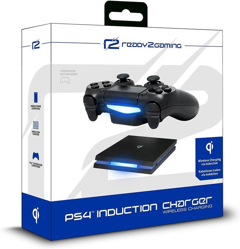 ps4 ladestation induction charger f r 1 controller toutes les consoles. Black Bedroom Furniture Sets. Home Design Ideas