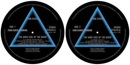 Pink Floyd Turntable Slipmat Set - Dark Side Of The Moon