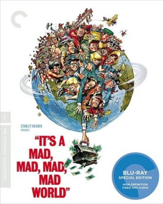 It's a Mad, Mad, Mad, Mad World (1963) (Criterion Collection, Special Edition)