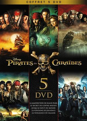 Pirates des Caraïbes 1-5 (Box, Limited Edition, 5 DVDs)