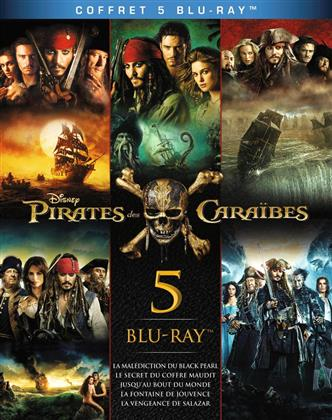 Pirates des Caraïbes 1-5 (Box, Limited Edition, 5 Blu-rays)