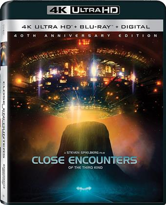 Close Encounters Of The Third Kind (1977) (40th Anniversary Edition, 4K Ultra HD + Blu-ray)