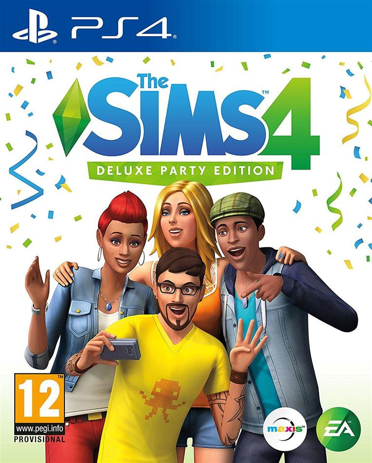 The Sims 4 (Deluxe Party Edition)
