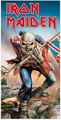 Iron Maiden Badetuch - The Trooper