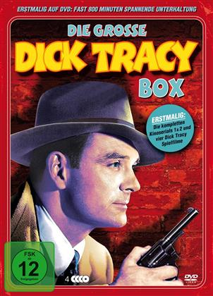 Die grosse Dick Tracy Box (Metallbox, s/w, 4 DVDs)