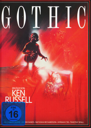 Gothic (1986) (Cover B, Collector's Edition, Limited Edition, Mediabook, DVD + CD-ROM)