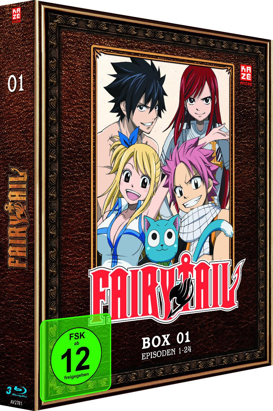 Fairy Tail - Box 1 - Staffel 1.1 (3 Blu-rays)
