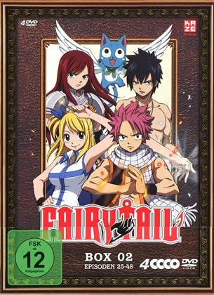 Fairy Tail - Box 2 - Episoden 25-48 (4 DVDs)