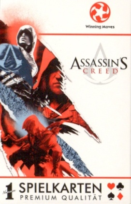 Number 1 Spielkarten - Assassins Creed