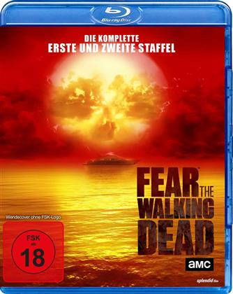 Fear the Walking Dead - Staffel 1 + 2 (Uncut, 6 Blu-rays)