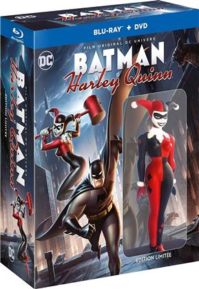 Batman & Harley Quinn (2017) (+ Figurine, Limited Edition, Blu-ray + DVD)