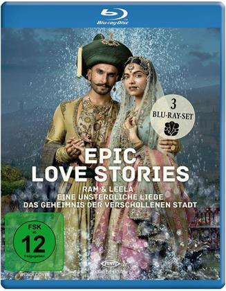 Epic Love Stories - 3 Spielfilme Box (3 Blu-rays)