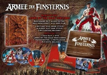 Armee der Finsternis (1992) (TV-Fassung, Collector's Edition, Director's Cut, Kinoversion, Limited Edition, Mediabook, Holzbox, 2 Blu-rays + DVD)