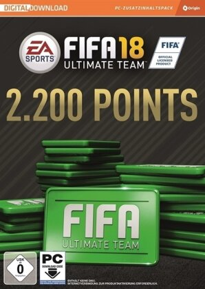 Fifa 18 2200 FIFA Points Ultimate Team