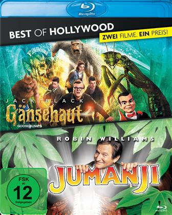 Gänsehaut / Jumanji (Best of Hollywood, 2 Blu-rays)