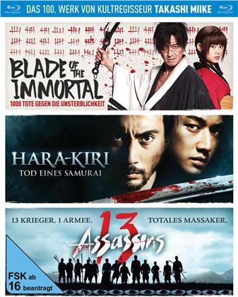 Takashi Miike Box - Blade of the Immortal / Hara-Kiri: Tod eines Samurai / 13 Assassins (3 Blu-rays)