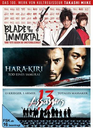 Takashi Miike Box - Blade of the Immortal / Hara-Kiri: Tod eines Samurai / 13 Assassins (3 DVDs)
