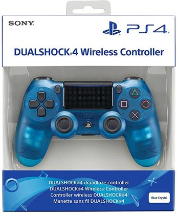 PS4 Controller original blue translucent V2 wireless Dual Shock 4
