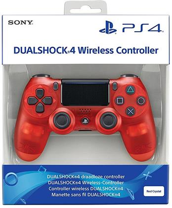 PS4 Controller original red translucent V2 wireless Dual Shock 4