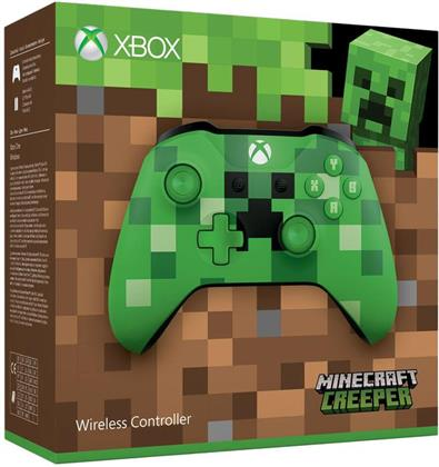 Xbox Wireless Controller (Minecraft Green Limited Edition)