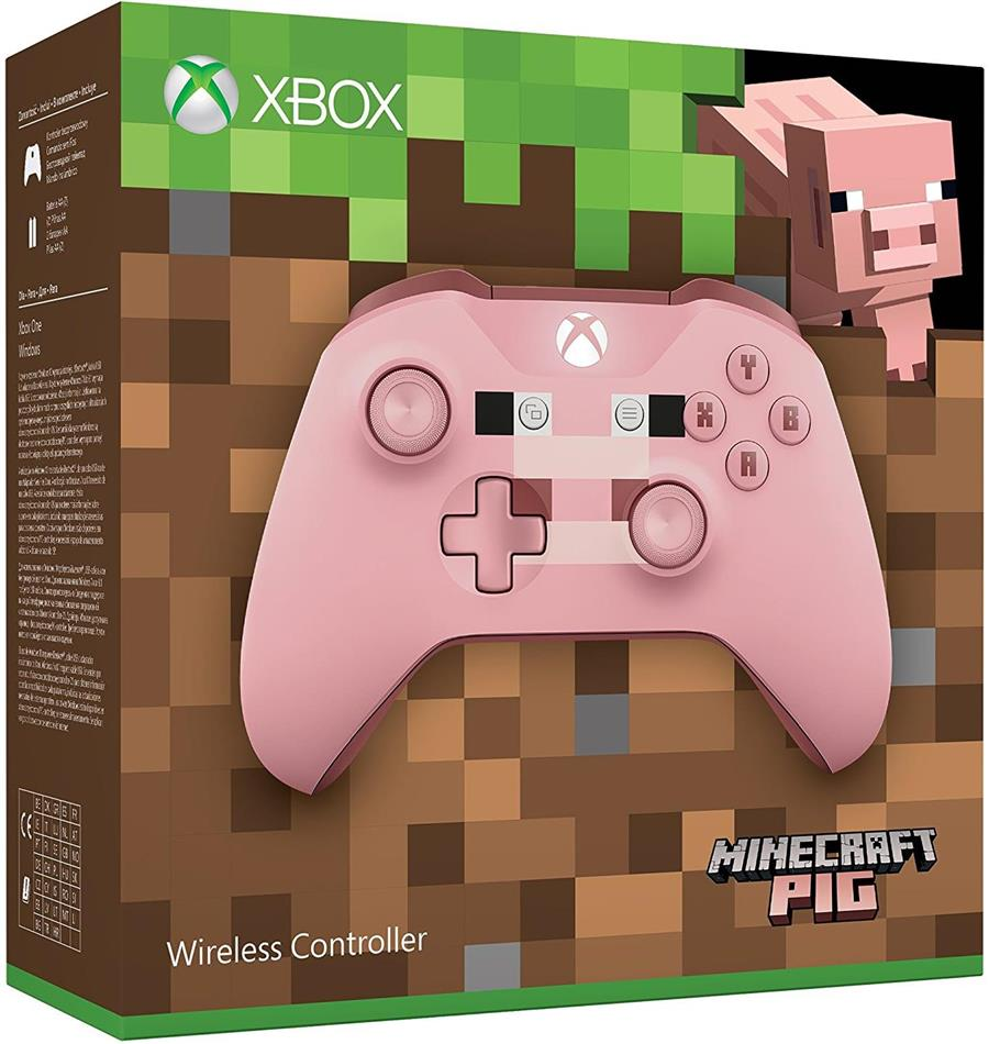 Xbox Wireless Controller (Minecraft Pink Limited Edition)