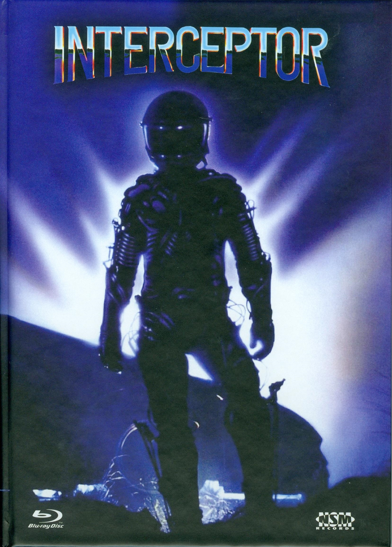 Interceptor (1986) - (Cover C, Collector's Edition, Limited Edition, Mediabook, Uncut, Blu-ray & DVD)
