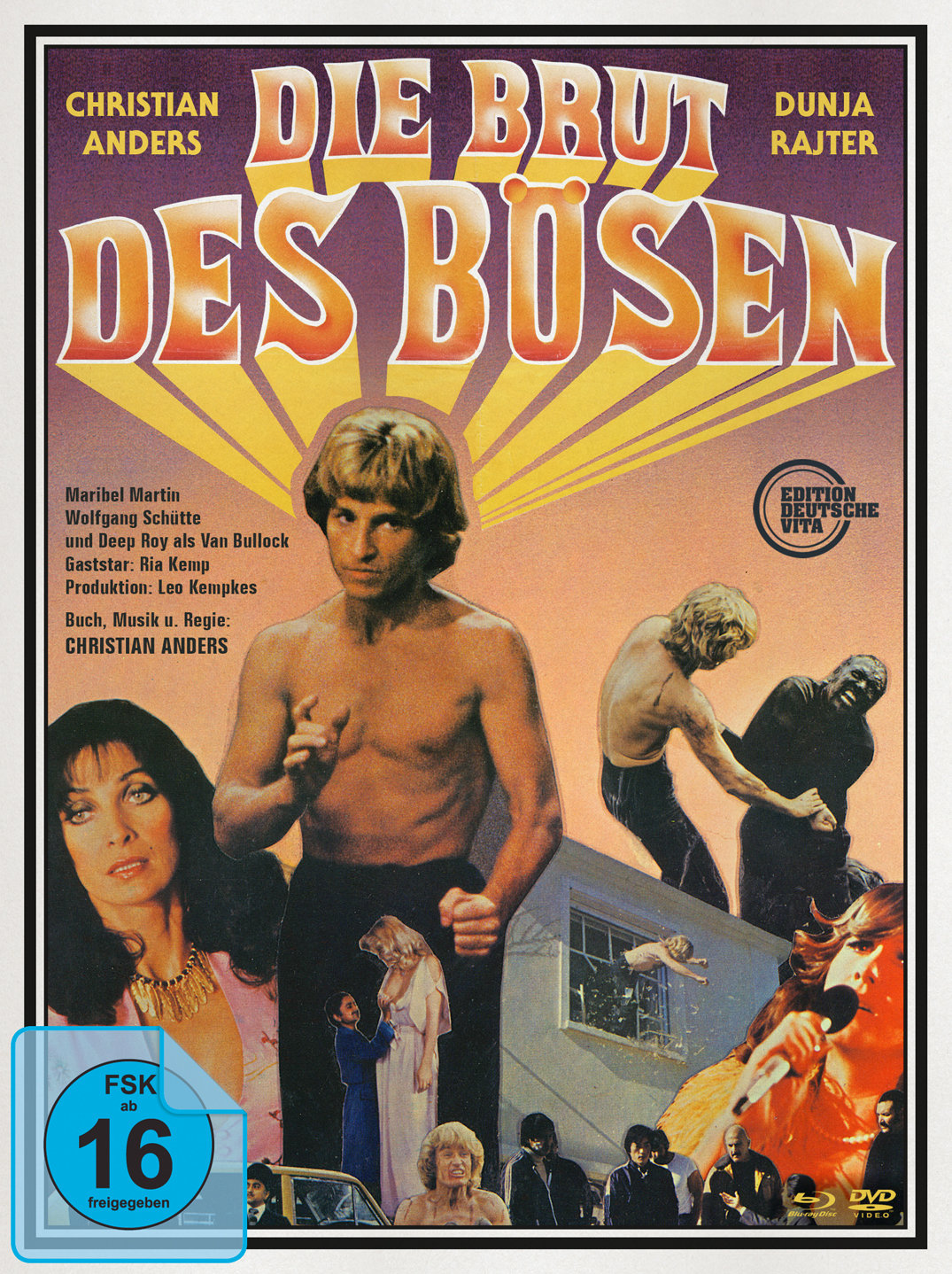 Die Brut des Bösen (1979) - (Edition Deutsche Vita, Unzensiert, Limited Edition, Uncut, Blu-ray & DVD)