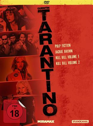 Tarantino Collection - Pulp Fiction / Jackie Brown / Kill Bill Volume 1 / Kill Bill Volume 2 (Collector's Edition, 4 DVDs)