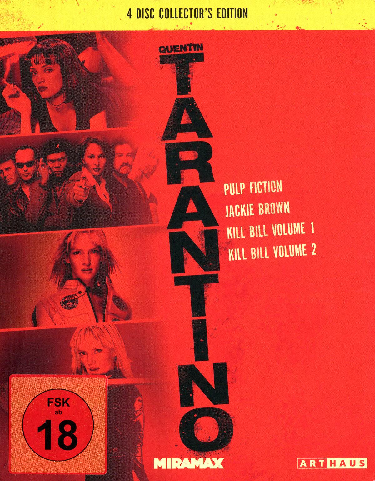 Tarantino Collection - Pulp Fiction / Jackie Brown / Kill Bill 1 / Kill Bill 2 (4 Blu-rays)