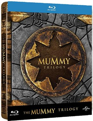 The Mummy Trilogy - La Momie Trilogie (Steelbook, 3 Blu-rays)