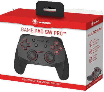 Switch Controller Bluetooth SNAKEBYTE Game:Pad SW Pro