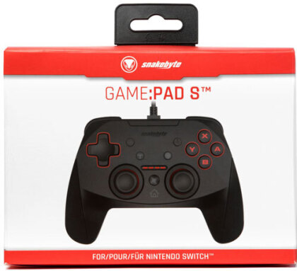 Switch Controller SNAKEBYTE Game:Pad S