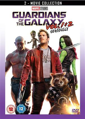 Guardians Of The Galaxy - Vol 1 & 2 - Obviously (2 DVD)