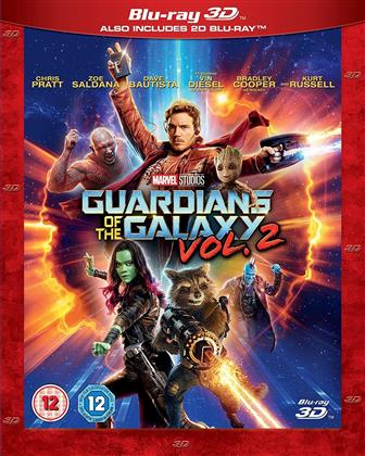 Guardians Of The Galaxy - Vol. 2 (2017) (Blu-ray 3D + Blu-ray)