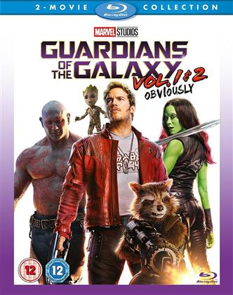 Guardians Of The Galaxy - Vol 1 & 2 - Obviously (2 Blu-ray)