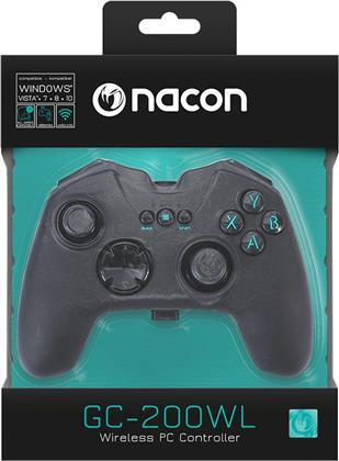 NACON GC-200WL RF Gaming Controller - black