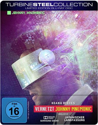 Johnny Mnemonic - Vernetzt (1995) (Turbine Steel Collection, Limited Edition, Langfassung, Steelbook)