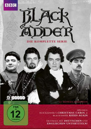 Black Adder - Die komplette Serie (BBC, Remastered, 5 DVDs)